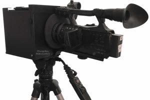 Portable Teleprompter with Versatile Mounting