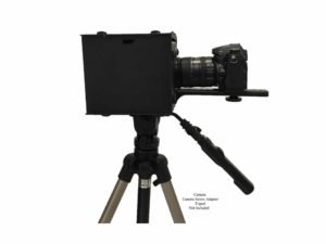 Portable mobile teleprompter